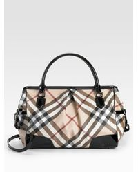 Burberry | Natural Madison Diaper Tote | Lyst