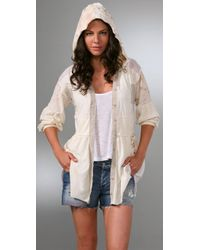Free People - Natural Gypsy Cardigan - Lyst