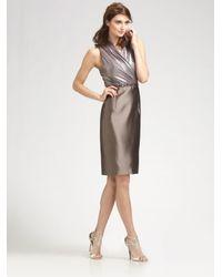 Kay Unger | Metallic Dress | Lyst