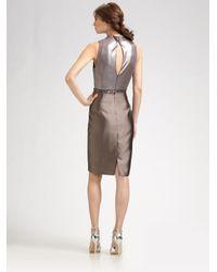 Kay Unger - Metallic Dress - Lyst