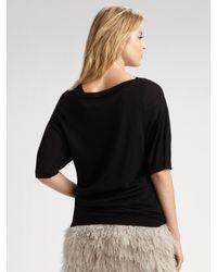 Robert Rodriguez - Natural Ostrich Feather Mini Skirt - Lyst