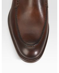 To Boot | Brown Burnished Leather Oxfords for Men | Lyst
