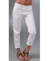 VINCE | White Chino Pants | Lyst