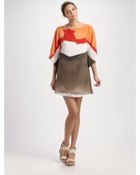 Alice + Olivia | White Kingsley Kimono Dress | Lyst