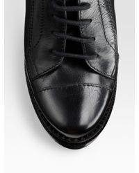 Burberry Brit - Black Hooded Taffeta Raincoat - Lyst