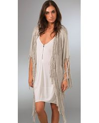 Kirrily Johnston - Natural Mountain Odyssey Cardigan - Lyst