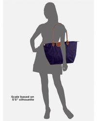 Longchamp | Brown Le Pliage Large Nylon Tote | Lyst