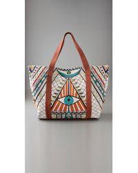 Mara Hoffman | White Beach Bag | Lyst