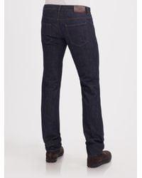 Prada - Blue Classic-fit Jeans for Men - Lyst