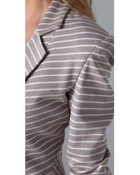 Robert Rodriguez - Gray Striped Blazer - Lyst