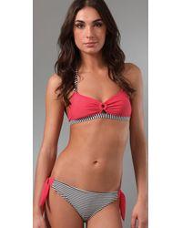 Rosa Cha - Pink Cinderella Striped Bikini Top - Lyst