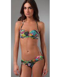 Rosa Cha - Multicolor Golf Club Print Bikini Top - Lyst