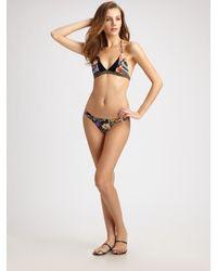 Zimmermann - Black Two-piece Ebony Rose Bikini - Lyst