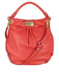 Marc By Marc Jacobs | Red Hillier Hobo Leather Shoulder Bag | Lyst