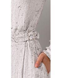 3.1 Phillip Lim | White Long Sleeve Sequin Jumpsuit | Lyst
