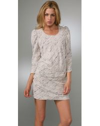 IRO | Gray Vayate Dress | Lyst
