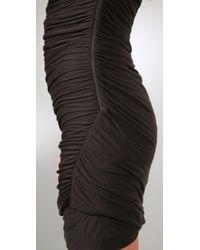 Elizabeth and James | Black Twisted Tube Dress | Lyst
