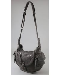IRO - Gray Andy Bag - Lyst