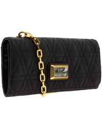Marc By Marc Jacobs | Black Party Foret Chain Continental | Lyst