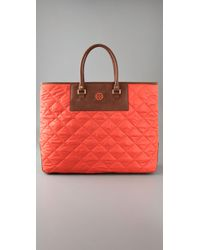 Tory Burch | Orange Bev Bag | Lyst