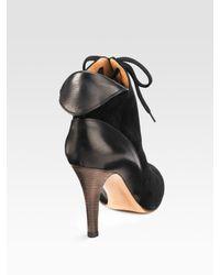 Martin Grant | Black Puff-skirt Dress | Lyst