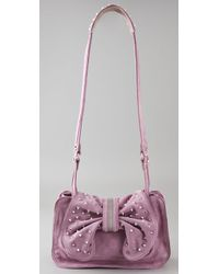 3.1 Phillip Lim - Purple Edie Bow Bag with Studs - Lyst