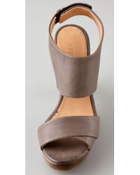 Coclico - Gray Limin Collared Clog Sandals - Lyst