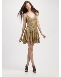 Opening Ceremony | Multicolor Lissy Leopard Swing Dress | Lyst