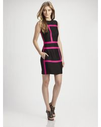 Martin Grant | Black Bustier Ladder Dress | Lyst