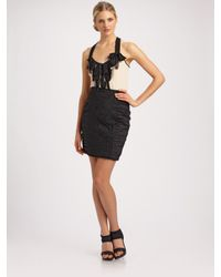 Nanette Lepore | Black Cyclone Skirt | Lyst