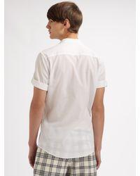 Viktor & Rolf - Black Plaid Shorts for Men - Lyst