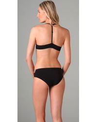 Calvin Klein - Black Perfectly Fit Front Fastening Multiway Bra - Lyst