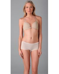 Calvin Klein | Natural Perfectly Fit Front Fastening Multiway Bra | Lyst