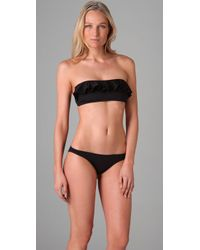 Inca | Black Lily Ruffle Bikini | Lyst