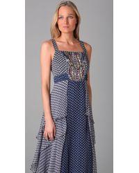 Nanette Lepore | Purple Milonga Silk Dress | Lyst