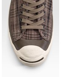 Converse - Natural Jv Jack Purcell Vintage Ox Sneakers for Men - Lyst