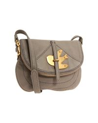 Marc By Marc Jacobs - Gray Petal To The Metal Flap Pouchette - Lyst