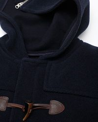 A.P.C. | Blue Duffle Coat for Men | Lyst