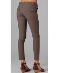 Joie - Natural Clarissa Skinny Pant - Lyst