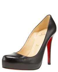 Christian Louboutin - Black Roland Pumps - Lyst