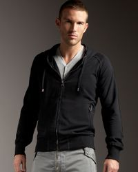 Dolce & Gabbana | Black Zip Hoodie for Men | Lyst
