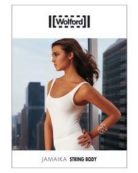 Wolford - White Jamaika String Bodysuit - Lyst
