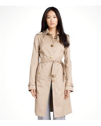 Tory Burch | Brown Quincy Trench | Lyst