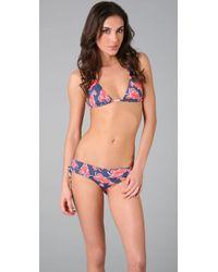 OndadeMar | Purple Reef Lobster Bikini Bottoms | Lyst
