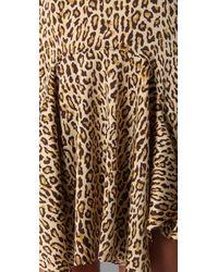 Opening Ceremony - Multicolor Lissy Leopard Swing Dress - Lyst