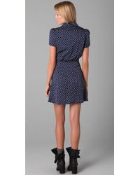 Opening Ceremony | Blue Lesley Peter Pan Collar Dress | Lyst