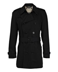 Burberry | Black Packable Trench Coat for Men | Lyst