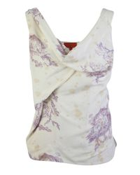 Vivienne Westwood Red Label - Natural Toile De Jouy Printed Top - Lyst