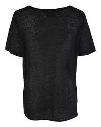 3.1 Phillip Lim - Black Cool Easy Chic T-shirt - Lyst