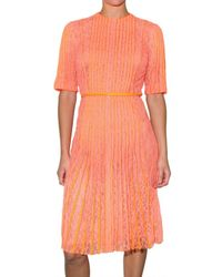 Christopher Kane | Orange Lace Dress | Lyst